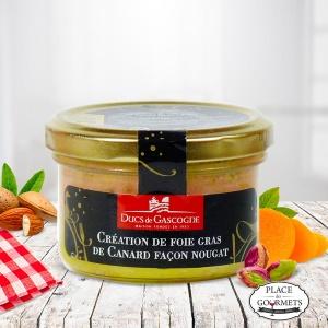 Création de foie gras de Canard façon nougat,  DUCS DE GASCOGNE