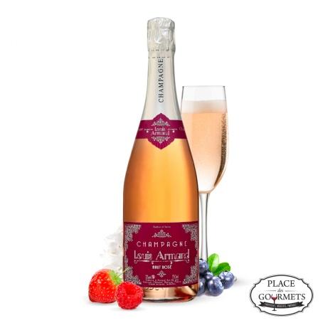 Champagne rosé Louis Armand brut