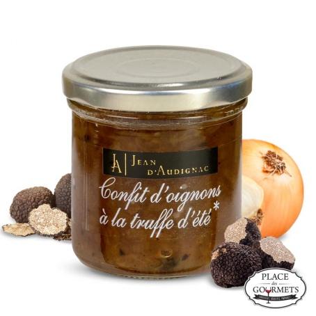 Confit d'oignons à la truffe d'ete Jean d'Audignac