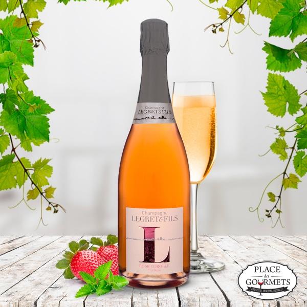 champagne-vegan-legret-&-fils-rose-corolle