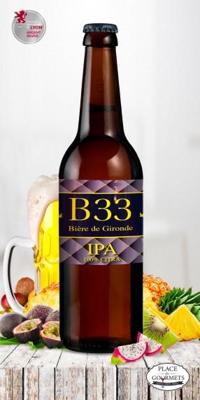 B33 bière IPA 75cl