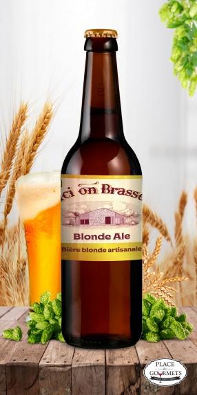 Ici on brasse bière blonde Ale 75cl