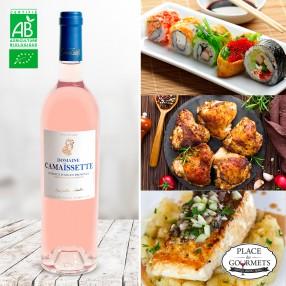 Domaine Camaïssette vin rosé bio 2017