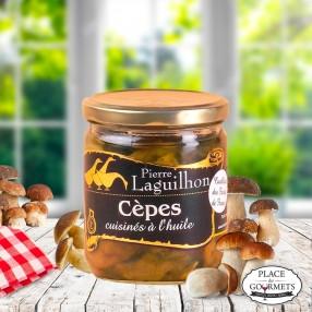 Cèpes cuisinés de France
