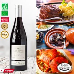 Cascavel Ruelles & Vallons Côtes-du-Rhônes Villages bio 2015