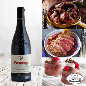 Bouvencourt vin de Vacqueyras 2015
