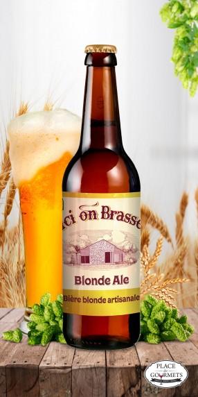 Ici on brasse bière blonde Ale 33cl