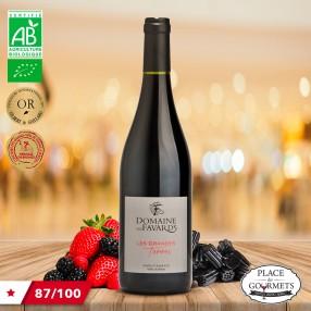 Les Grandes Terres Domaine des Favards vin bio 2016 Cotes du Rhône bio