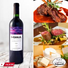 Minna, Bouches-du-Rhône vin rouge 2008